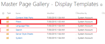 Filters folder in the Master Page Gallery